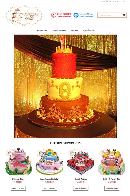 Fancy Choudhury's Cake